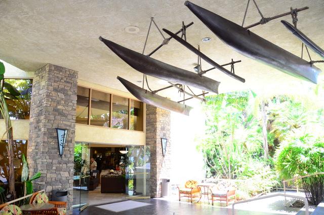 Crown Royal Hotel, San Diego - A Hawaiian themed hotel!