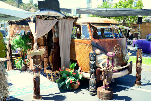 The Ultimate Tiki Mobile: Tiki Oasis Car Show