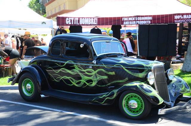 Tiki Oasis Car Show