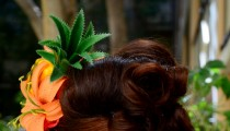 Pinup Hair Style from Tiki Oasis 2014