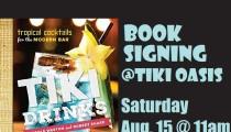 Tiki Drinks Book Signing at Tiki Oasis!!