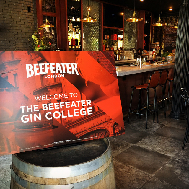 10 Things We Learned at Beefeater Gin College