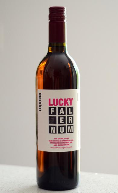 Tiki Tasting: Lucky Falernum, reviewed