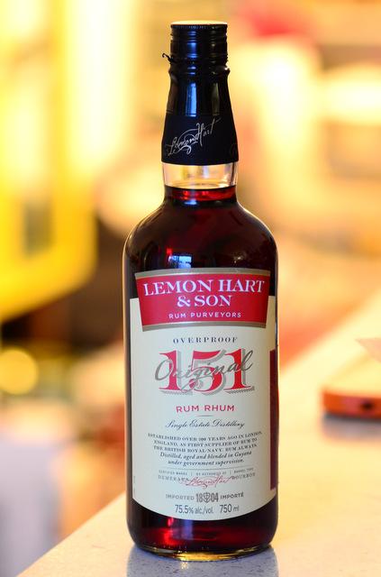 Tiki Tasting: Lemon Hart 151